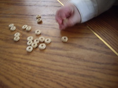 Eli and Cheerios... by Gramody on Flickr