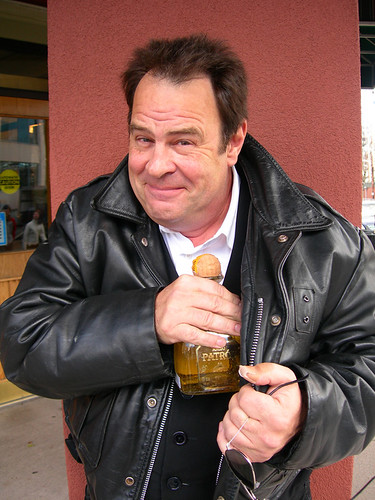 Drink it or Dan Aykroyd will rape you. He actually might do that anyways.