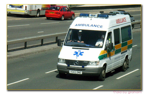 Plymouth Central Ambulance(?) V343DND