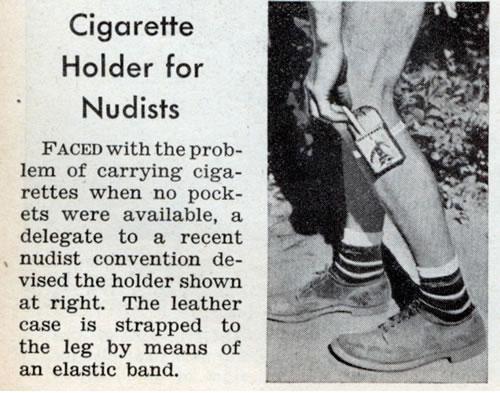 tabaquera para nudistas