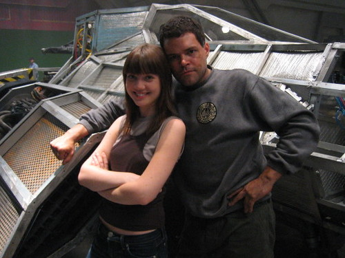 Picture of Nicki Clyne as Cally from Battlestar Galactica