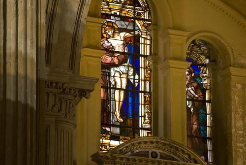 vidriera catedral antes