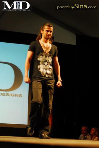 Masih Designs fashion show