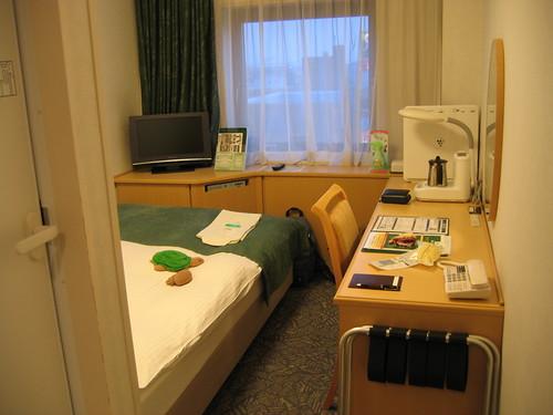 房間很小但很溫馨