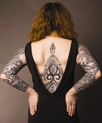 Me and my tattoos looking fancy (Needles and Sins (formerly Needled)) Tags: tattoo tattoos bodyart redheads needled marisadimattia
