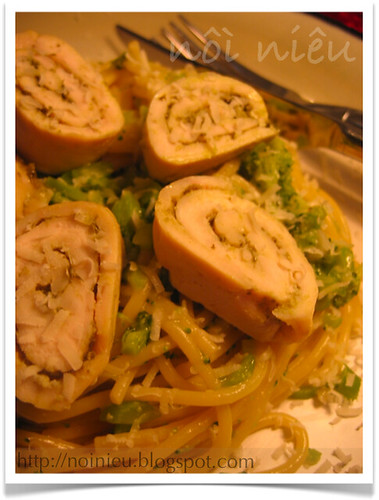 Chicken with Pesto Sauce