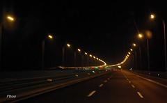 Hangzhou Bay Bridge In The Night (bayphoe) Tags: bridge longest transoceanic hangzhoubay