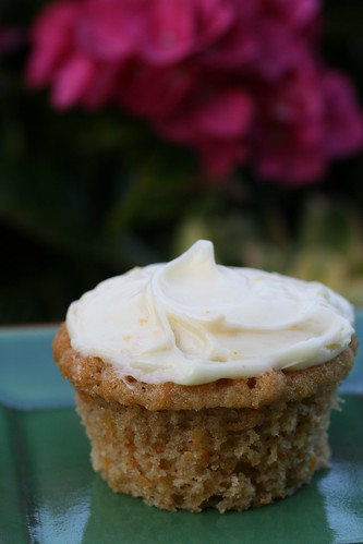 Carrot-Ginger Cupcakes