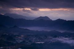 SH_071227_022 (xtremevisuals) Tags: mist mountains silhouette japan fog clouds sunrise canon 5d kyushu 24105mm