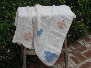 Ravelry: Baby Blanket pattern by Debbie Bliss