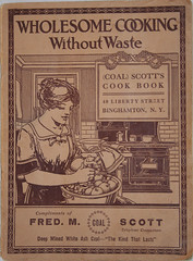 1916 cookbook from Scott's Coal