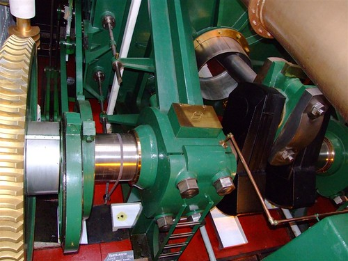 Ironclad HMS Warrior engine crankshaft