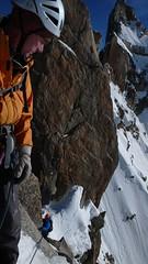 Cosmiques Arte (chaletlaforet) Tags: mountaineering chamonix aiguilledumidi cosmiquesarte
