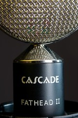A tool of my other life... (baissie) Tags: microphone cascade audiorecording ribbonmic macromondays fatheadii