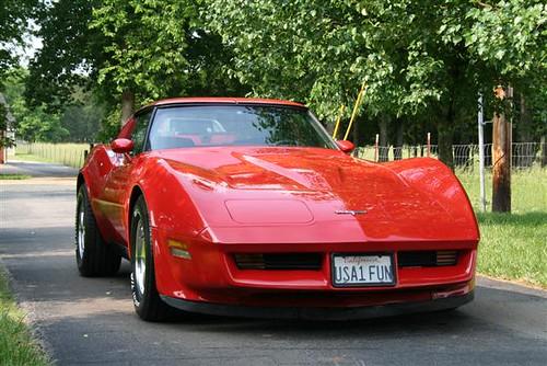 1980 L-82 Corvette front