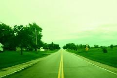 (Julia Balestrieri) Tags: road green wisconsin fisheye zenitar wi racine greentint nooutlet