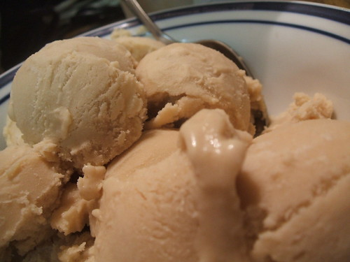 home made peanut butter ice cream