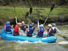 Rafting Baba river, Ecuador. (barefoot expeditions) Tags: travel ecuador adventure streetkids socialwork barefootexpeditions raftingecuador ecuadoradventuretravel