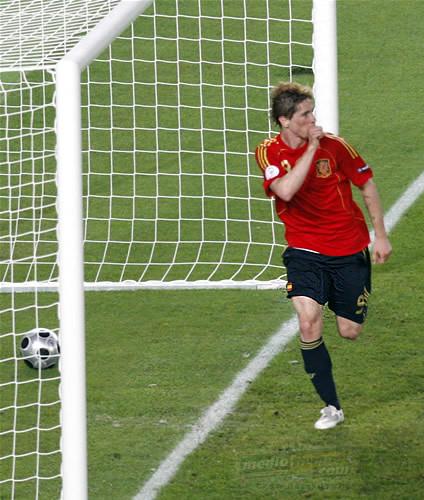 Amistoso internacional: España 3 - Chile 0