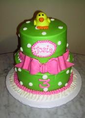 Josie's Duckie Cake