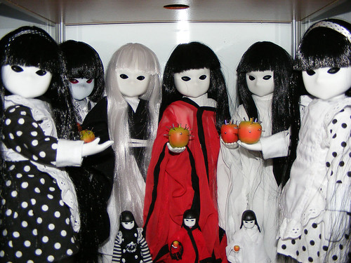 Little Apple Red Dolls my Little Apple Dolls Together