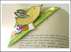 bookmark (Noa Oron) Tags: handmade recycle bookmark עבודתיד נויה סימניה noaoron נועהאורון noyaartcom מחזורמעטפות