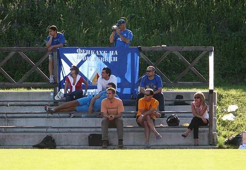 Újpest FC - Levski Sofia (levski supporters)