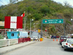 Macará border crossing