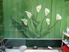 vasca con calle (pandecora (interior decorative painter)) Tags: art painting calle paint decoration bagno trompeloeil pittura interiordecorator decorazionepittorica decoratore