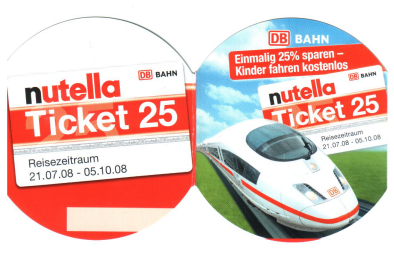 Nutella Ticket 25