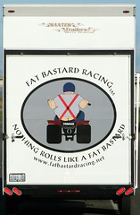 Ah, be nice! (Jenni Reynolds-Kebler) Tags: auto nice automobile fat racing roll trailer bastard
