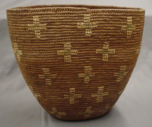 Eastside Cascades/Interior Salish Basket