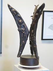 "<p>Title: ""Roots and Wings""<br/>Sculptor: Mac Gimse<br/><br/>Accessible to Public: yes, indoors<br/>Location: Buntrock Commons<br/>Ownership: St. Olaf College<br/>Medium: Bronze<br/>Dimension: 28 inches high<br/>Provenance: <br/>Year of Installation:<br/>Physical Condition: good</p>"