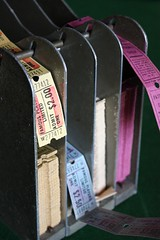 Vintage Tickets (thejoyof) Tags: vintage movie tickets ephemera