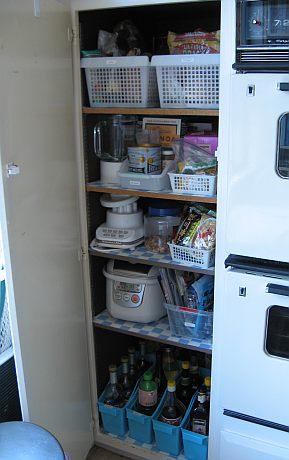 After: Pantry 3 organized