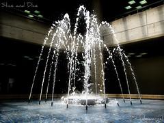 Luces, agua... y acción! (Shadowargel) Tags: luz agua fuente momentos altamira
