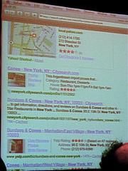 Yahoo Semantic Search Results Enhanced