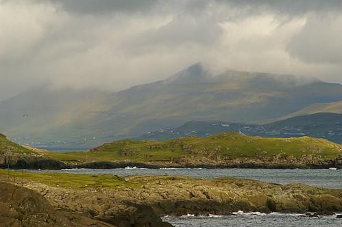 Faroe Islands - view from camp in Tórshavn