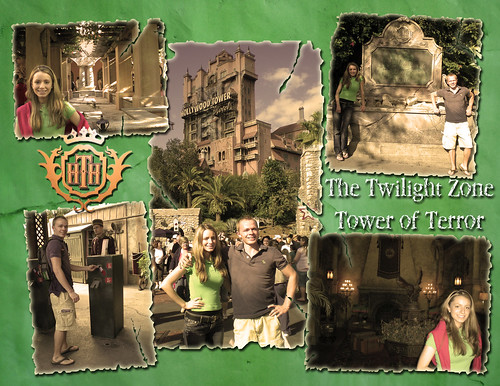 Tower of Terror Layout