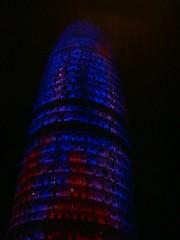 Torre Agbar (TheSameGirl) Tags: torre barcellona agbar