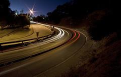Elysian Park, Los Angeles (STERLINGDAVISPHOTO) Tags: losangeles twilight downtown nightlights canon5d elysianpark lightstream radiohill wwwsterlingdaviscom