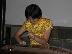 Mistress of the Guzheng (becklectic) Tags: china music woman night garden women asia suzhou 2006 prc jiangsu zither masterofthenets guzheng gardenofthemasterofthenets wangshiyuan masterofthenetsgarden worldtrekker 20060727img0243