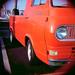 Orange Van-Truck
