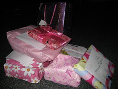 Girly presents