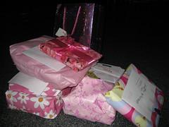 Girly presents