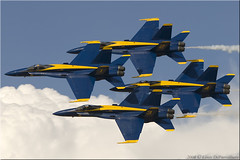 McDonnell Douglas F/A-18 Hornet -- USN Blue Angels - NAS pensacola, FL (One Mile High Photography) Tags: airplane colorado aviation sigma airshow usnavy allrightsreserved 1000views planespotting militaryaircraft jetaircraft grandjunctionco nikond200 kgjt aviationphotography airshowphotography usnavyblueangels militaryfighteraircraft coloradophotographer adobephotoshopelements50 grandjunctionregionalairport mcdonnelldouglasfa18abcdhornet sigmaapo120400mmf4556dgoshsm airshowwesterncolorado2008 coloradoshooter onemilehighphotography wwwomhphotoscom 2013louisdepaemelaere
