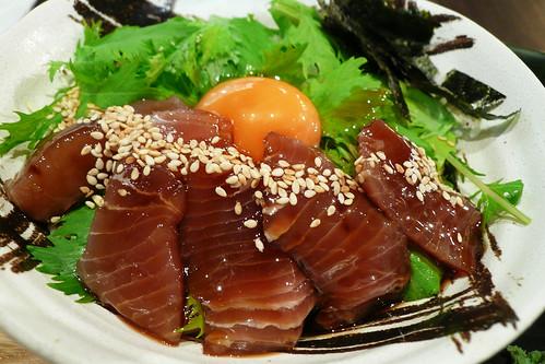 淡醬黃肌鮪魚蓋飯@大戶屋