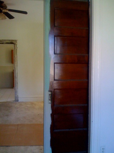 Pocket door revealed!