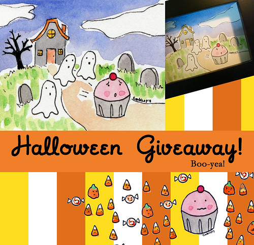 October Cakespy Giveaway!