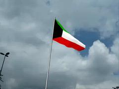 Kuwait Flag (3Ds Max 2009) (ZiZLoSs) Tags: max flag animation kuwait 2009 3ds kuwaiti abdulaziz  zizloss  3aziz almanie
